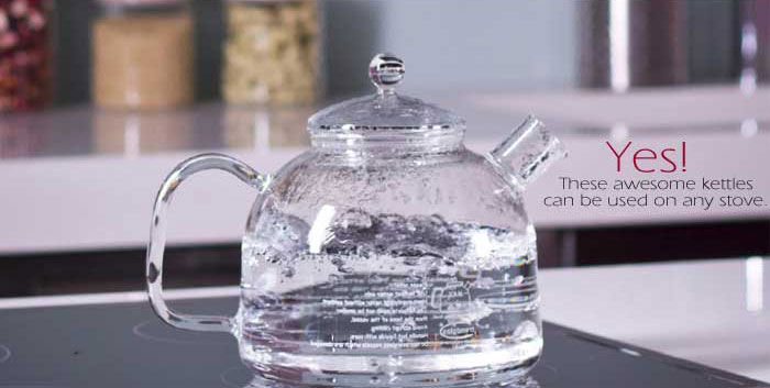 German Glass Kettles