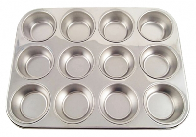 Stainless Steel Muffin Pans