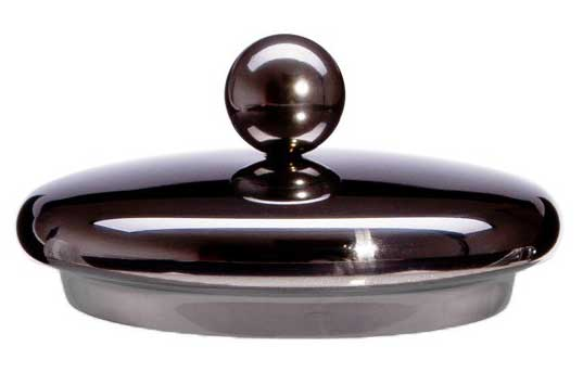 Stainless Steel Lid for German Glass Stove-top kettle