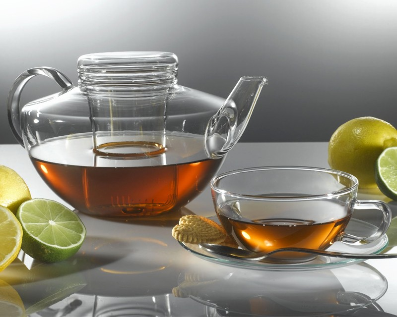 German Glass Miso Teapot